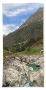 Valle Verzasca - Ticino Beach Towel