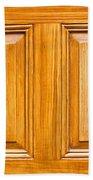 Wooden Panels Beach Towel