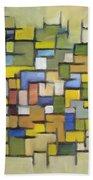 2012 Abstract Line Series Xx Beach Towel