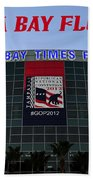 2012 Gop Convention Site Beach Towel
