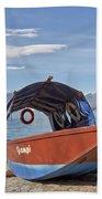 Lake Maggiore Beach Towel by Joana Kruse