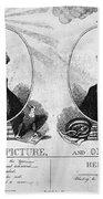 Thomas Jefferson (1743-1826) Beach Towel