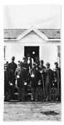 Civil War: Black Troops Beach Towel