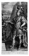 Louis Xiv (1638-1715) Beach Towel
