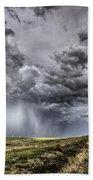 Storm Clouds Saskatchewan Beach Towel
