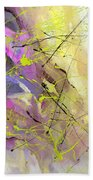 2nd  Symphony Of The Voyage Of The Stars  Beach Towel