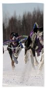 2011 Limited North American Sled Dog Race Beach Sheet