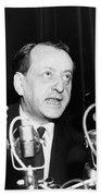 Andre Malraux (1901-1976) Beach Towel