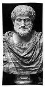 Aristotle (384-322 B.c.) Beach Towel