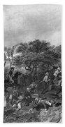 Battle Of Monmouth, 1778 Beach Towel