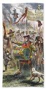 Boston: Stamp Act Riot, 1765 Beach Sheet