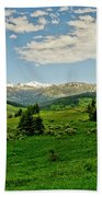 Bridger Mountain View Beach Towel