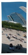 Chicago City Scenes Beach Towel
