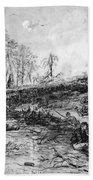 Civil War: Spotsylvania Beach Towel