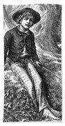 Clemens: Tom Sawyer Beach Towel