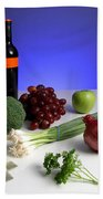 Foods Rich In Quercetin Beach Towel