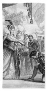 Francis Drake (1540?-1596) Beach Towel