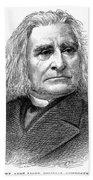 Franz Liszt (1811-1886) Beach Towel