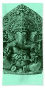 Ganesha, Hindu God Beach Towel