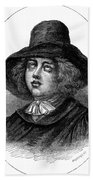 George Fox (1624-1691) Beach Towel