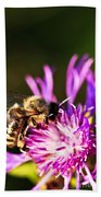 Honey Bee Beach Towel