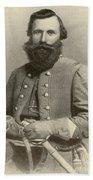 Jeb Stuart, Confederate General Beach Towel