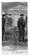 John Wilkes Booth Beach Towel
