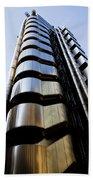 Lloyds Building Central London  Beach Towel