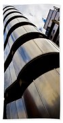 Lloyds Of London Building Beach Towel