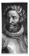 Luiz Vaz De Camoes (1524-1580) Beach Towel