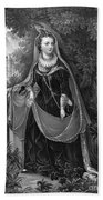 Mary Queen Of Scots Beach Towel