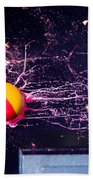 Paintball Shot At Razor Blade Beach Towel