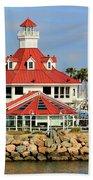 Parker's Lighthouse Restaurant Beach Towel