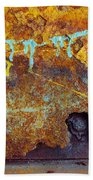 Rust Colors Beach Towel