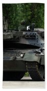 The Leopard 1a5 Mbt Of The Belgian Army Beach Towel by Luc De Jaeger