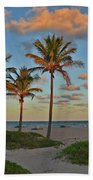 39- Evening In Paradise Beach Towel
