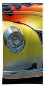 39 Ford Deluxe Hot Rod 3 Beach Towel