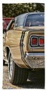 1968 Dodge Coronet Rt Beach Towel