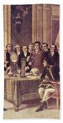 Alessandro Volta, Italian Physicist Beach Towel
