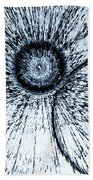 Circle 3d Art Beach Towel