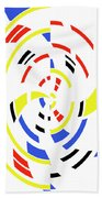4 Colors Abstract Beach Towel