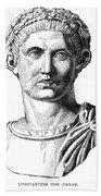 Constantine I (d. 337) Beach Towel