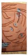 Crazy Pineapple Beach Towel by Gloria Ssali