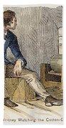 Eli Whitney (1765-1825) Beach Towel