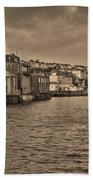 Falmouth Harbour  Beach Towel