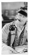 Film Still: Telephones Beach Towel