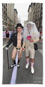 Gay Pride Couples Nyc 2011 Beach Towel
