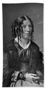 Harriet Beecher Stowe, American Beach Towel