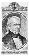 James K. Polk (1795-1849) Beach Towel