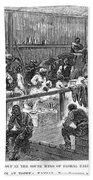 Kansas: Black Exodus, 1879 Beach Towel